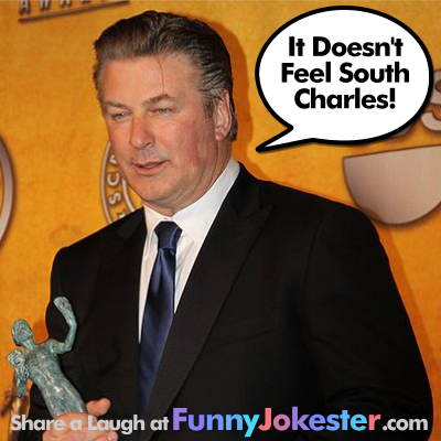 Funny Alec Baldwin Joke and Police Report