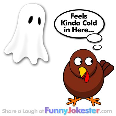 Turkey Joke and Ghost Joke