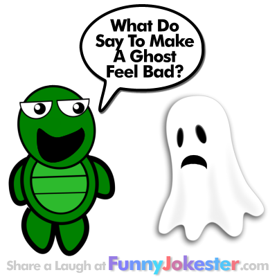 Funny Bad Ghost Joke - Halloween Jokes