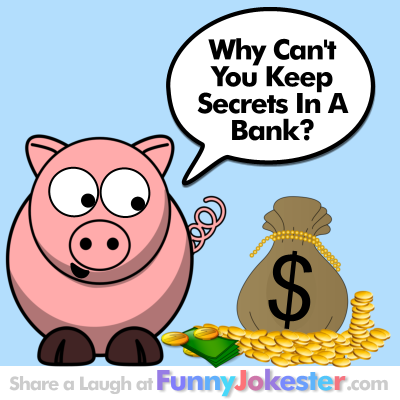Funny Bank Joke