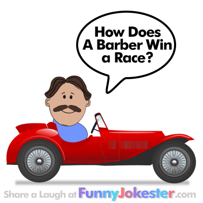 Funny Kids Joke for Haircut
