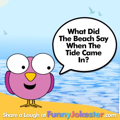 Funny Beach Joke Summer Vacation Jokes Funny Jokester