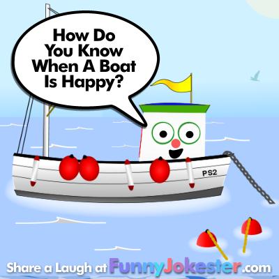 Funny Boat Joke for Kids