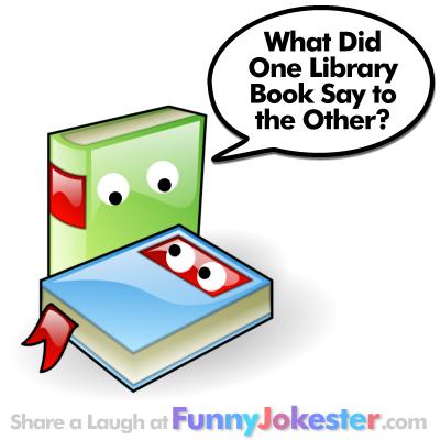 Funny Book Joke