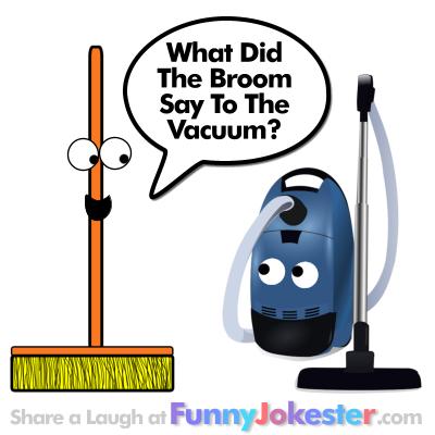 New! <b>Funny</b> Broom and Vacuum <b>Joke</b>! <b>Clean Jokes</b>!