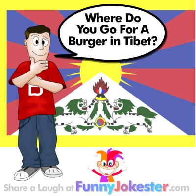 Funny Burger Joke