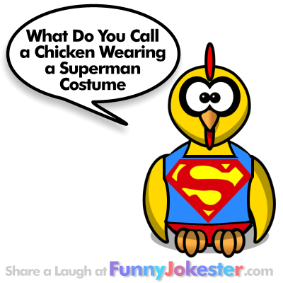 Chicken Costume Joke