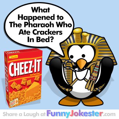 Funny jokester has the funniest new jokes and cooking jokes
