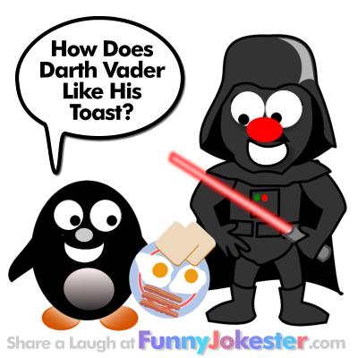 Funny Darth Vader Joke for Kids