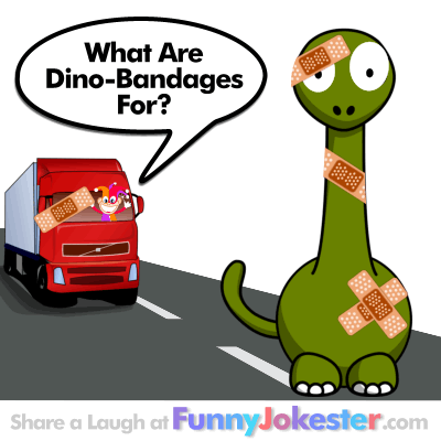 Funny Dinosaur Joke Cartoon Joke