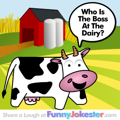 Funny Farm Cow Joke
