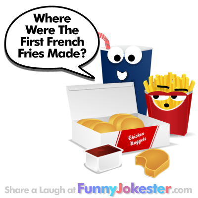 French Fries Joke and Cooking Jokes