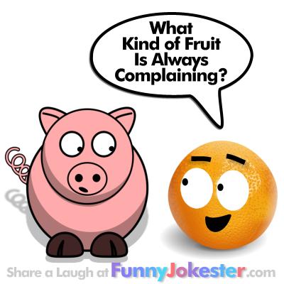 Funny Fruit Joke