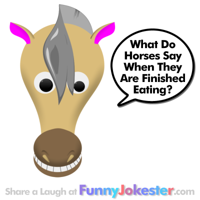 Funny Horse Joke