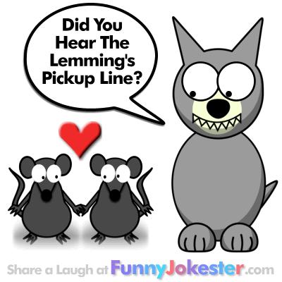 Funny Lemming Joke