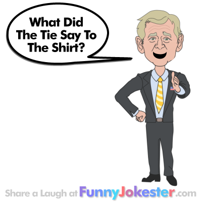 Shirt and Tie Joke told by George W Bush