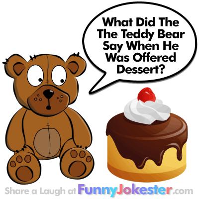 Funny Teddy Bear Joke