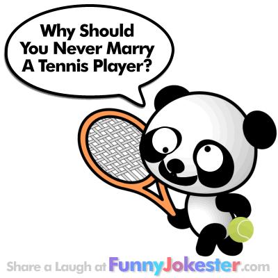 Funny Tennis Joke