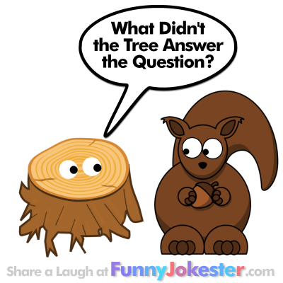 Funny Tree Joke for Kids