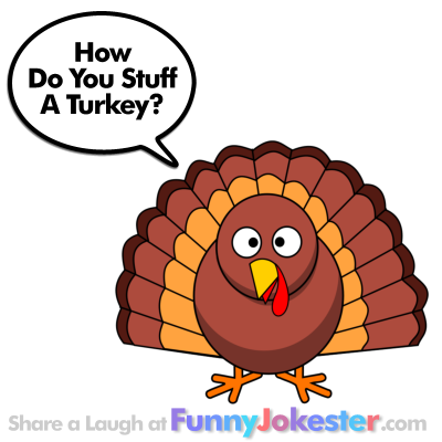 Funny Turkey Jokes For Thanksgiving!