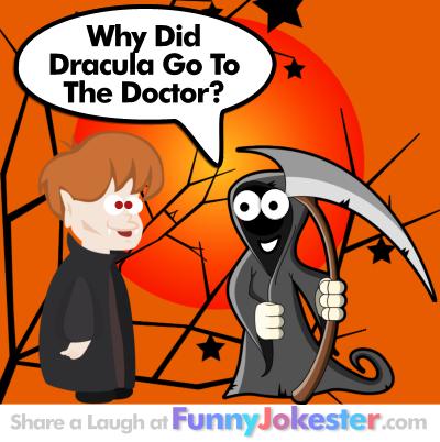 Funny Dracula Joke! Funny Dracula Doctor Joke!
