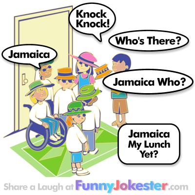 Jamaica Knock Knock Joke