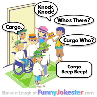 Cargo Knock Knock Joke