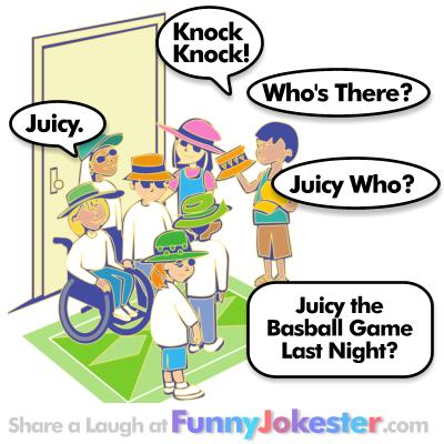 Juicy Knock Knock Joke