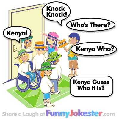 Kenya Knock Knock Joke