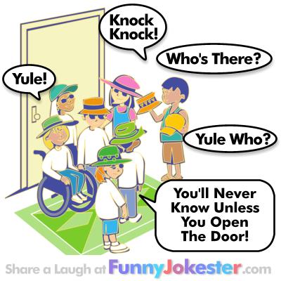 Yule Knock Knock Joke