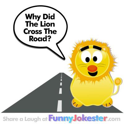 Funny Lion Joke