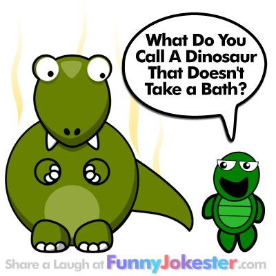 Funny Dinosaur Joke for Kids