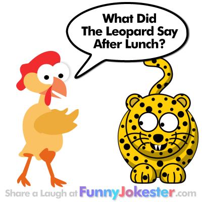 New Leopard Joke
