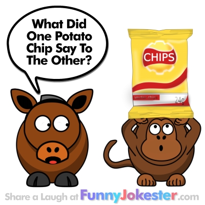 Funny Potato Chip Joke