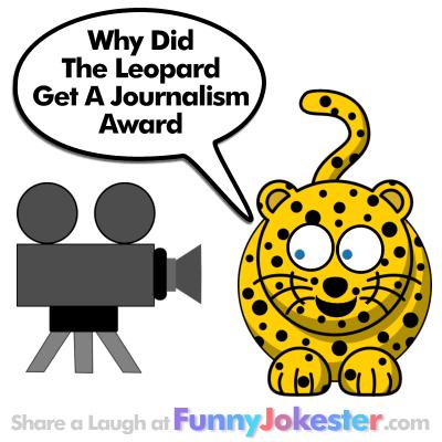 Funny Leopard Joke! A New Funny Zoo Joke with a Cartoon!