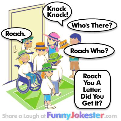 Roach Knock Knock Joke