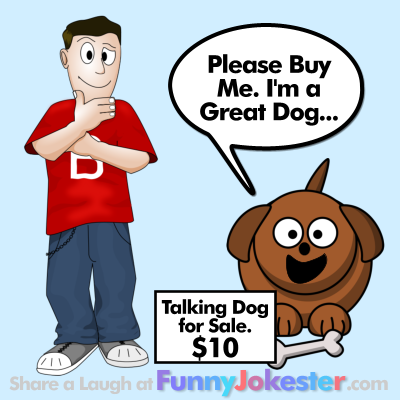 Talking Dog with Cartoon
