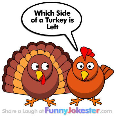 Funny Turkey Joke for Thanksgiving