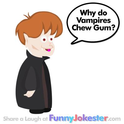 Vampire Joke for Kids