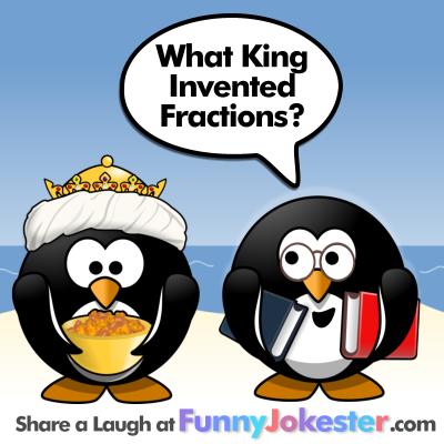 Fractions Jokes