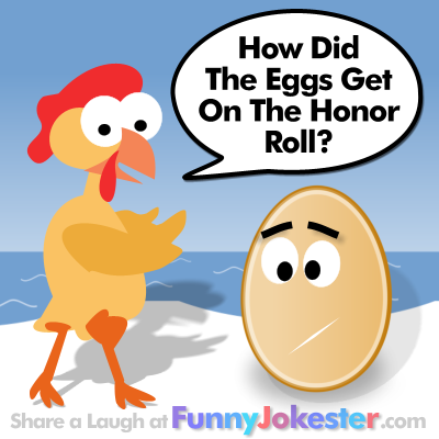 Chicken Telling Egg Joke