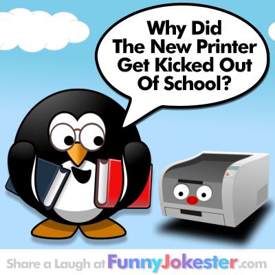 Funny Printer Joke