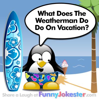 Funny Weatherman Joke