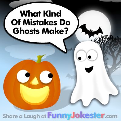 halloween ghost joke